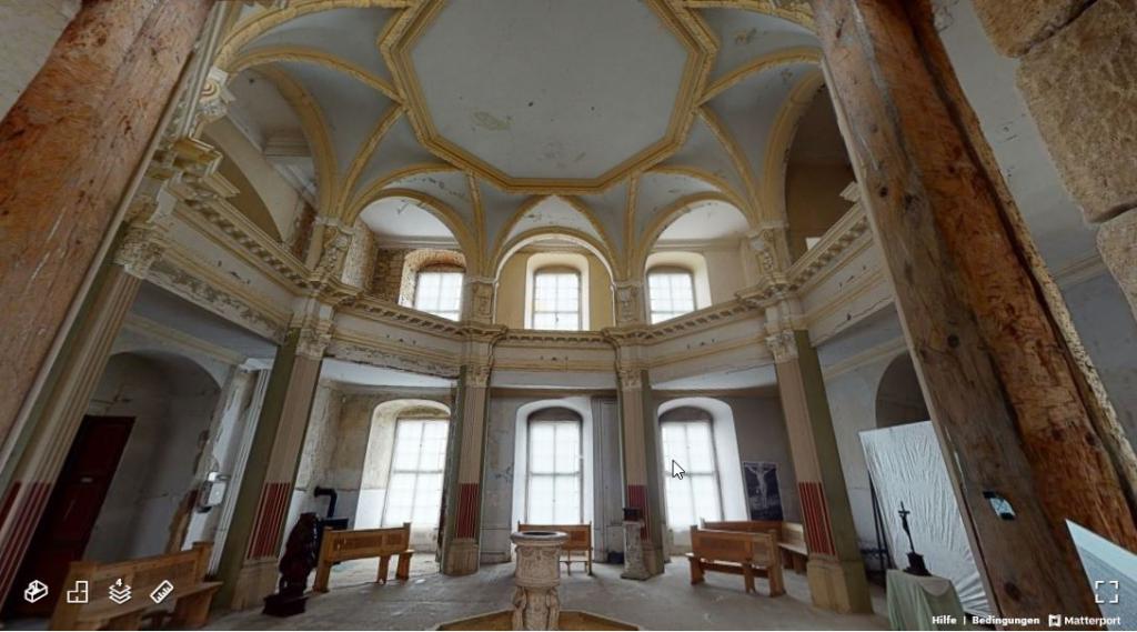 virtuelle Tour: Schlosskapelle