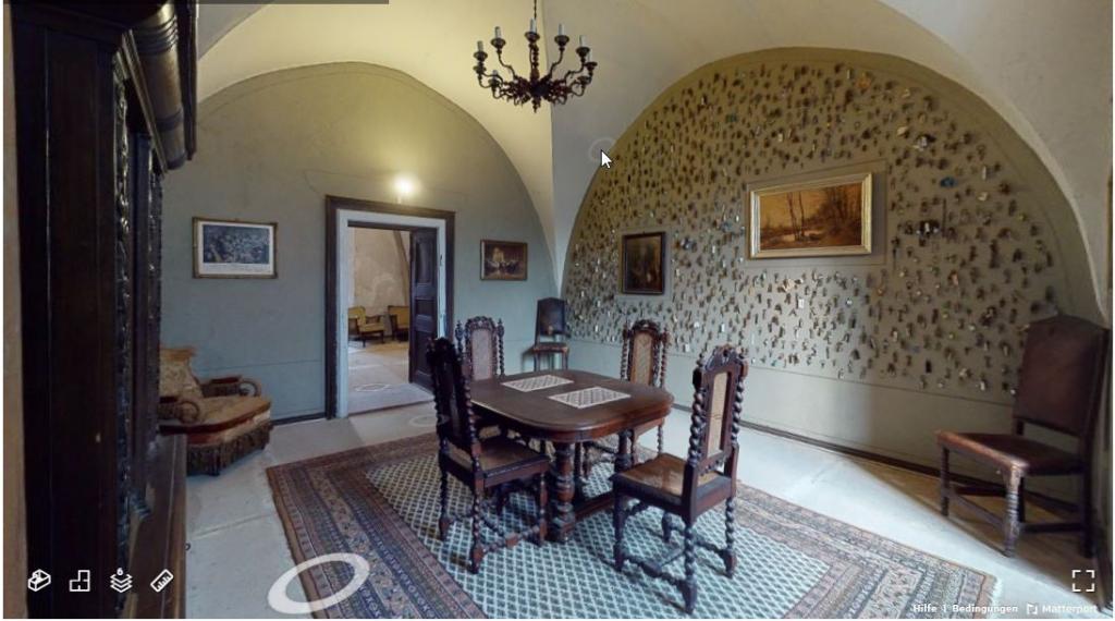 virtuelle Tour: Raum im Großen Schloss