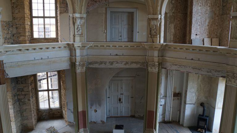 HERMANN REEMTSMA STIFTUNG unterstützt bei Restaurierung der Schlosskapelle